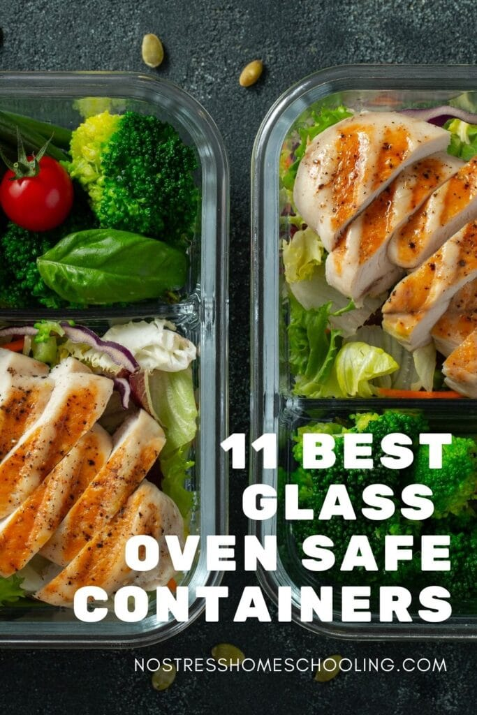 picture of oven safe meal prep container options
