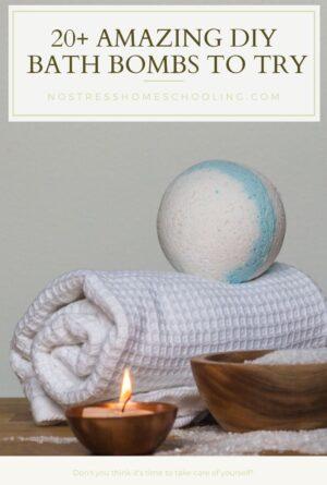 20+ Amazing DIY Homemade Bath Bombs
