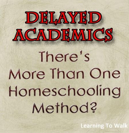 Delayed Academics