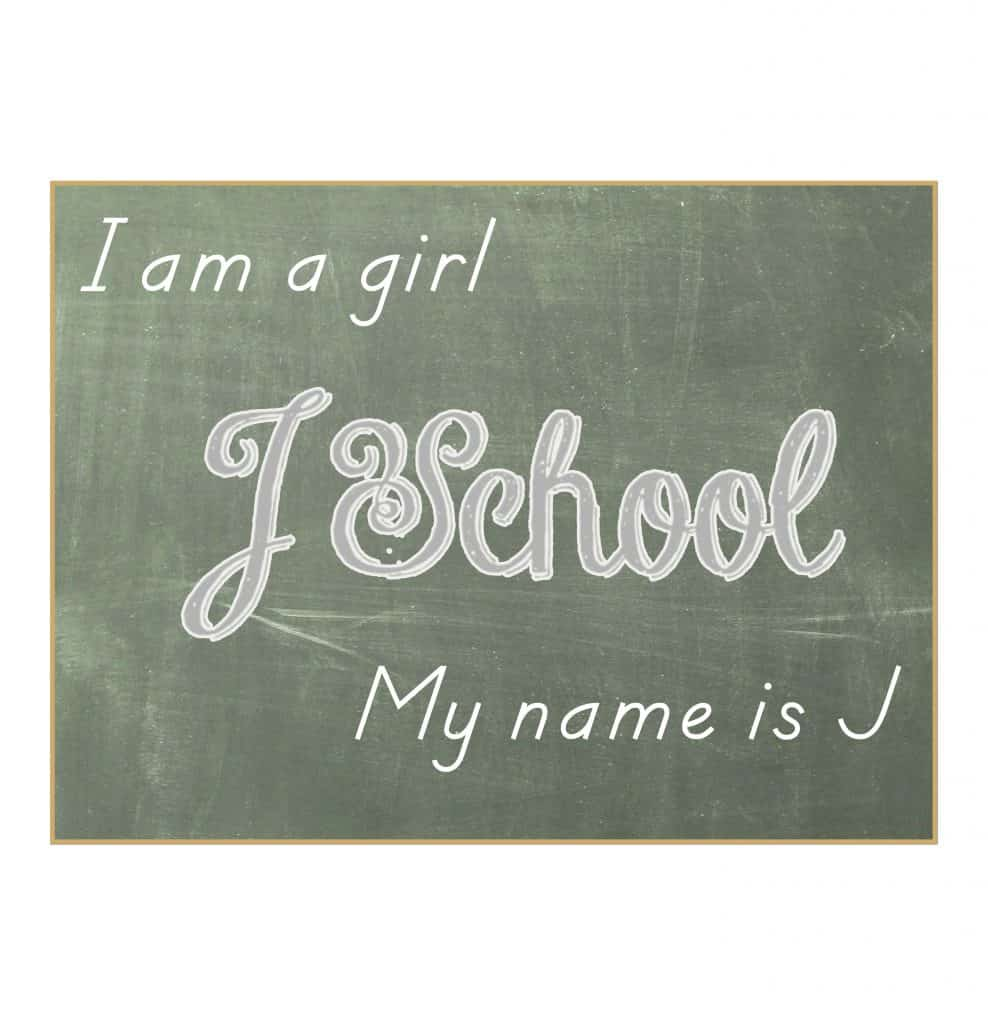 J School Logo