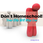 homeschooling fallacy: your kids will miss out