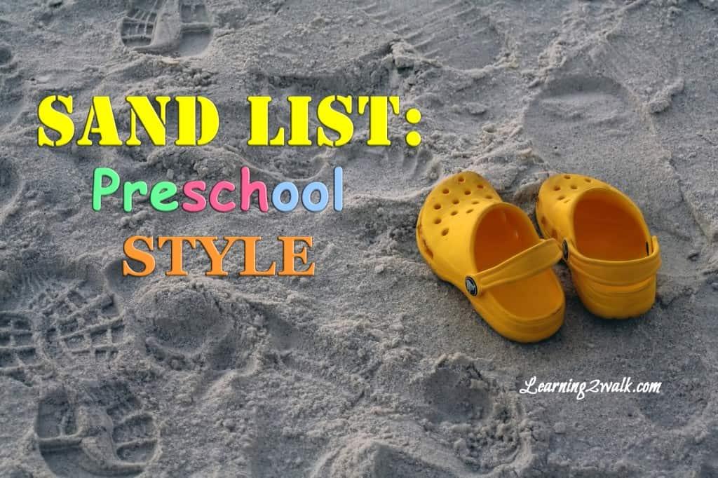 sand list
