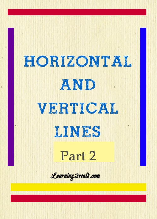 Horizontal And Vertical Lines pt 2