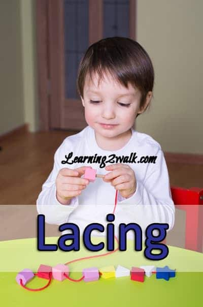 Lacing for Preschoolers