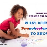 what does my preschooler need to know: language