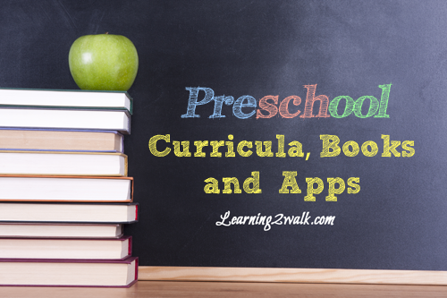 curricula, books and apps for preschoolers