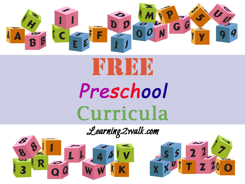 free preschool curricula