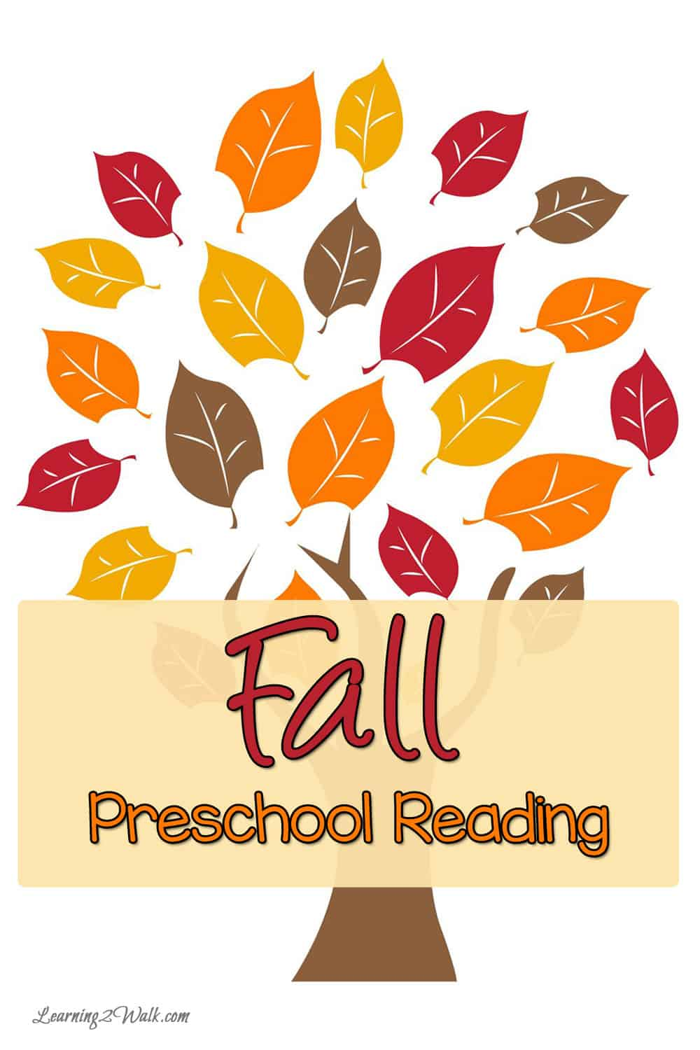 Welcome fall with these 5 books for your preschool reading time.