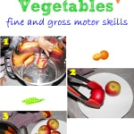 Fruits and Vegetables Fine and Gross Motor Skills