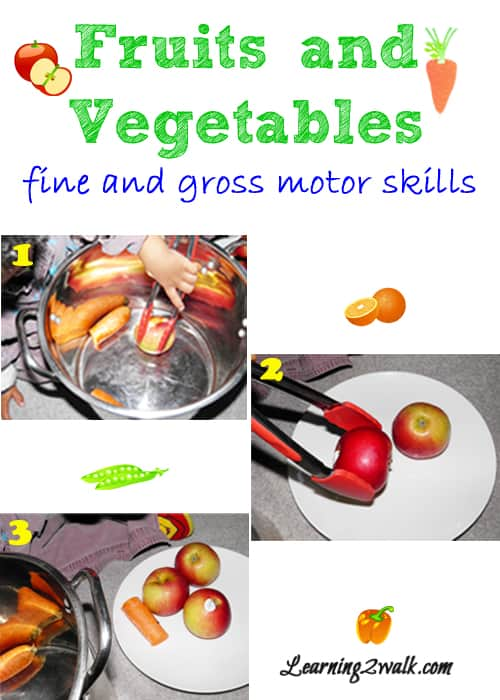 Looking for fruits and vegetables activities for your preschool theme? Try a few of these activities