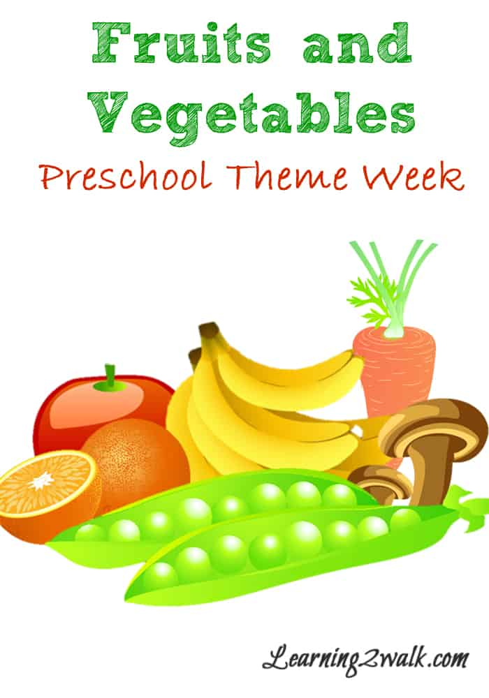 looking for fruits and vegetables activities for your preschool theme try a few of these