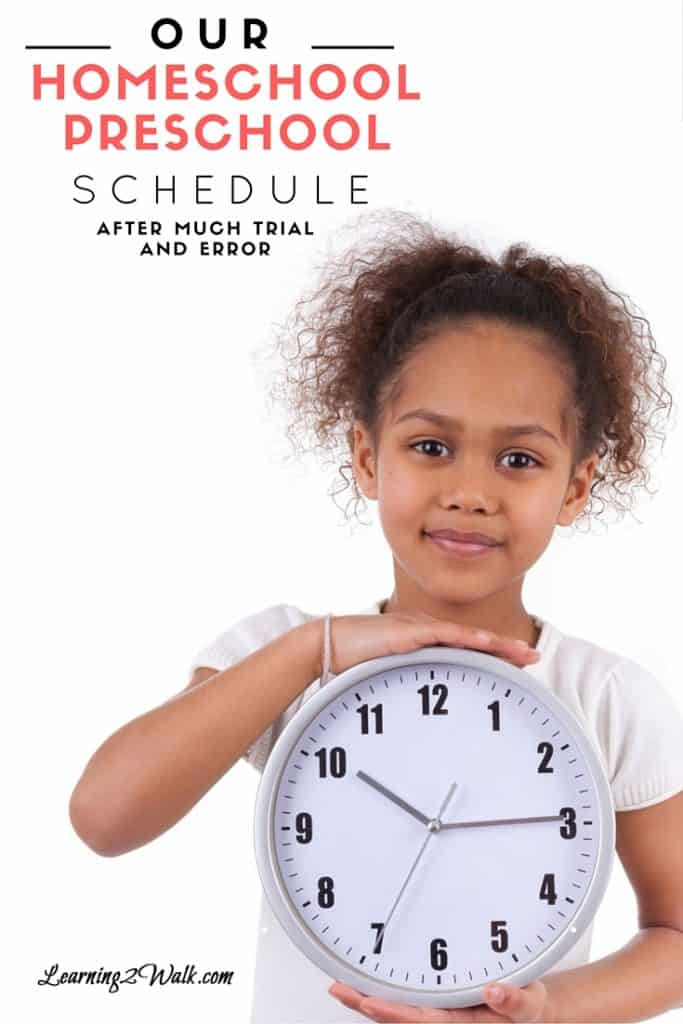 Finding the perfect preschool schedule is hard. You can try so many things just to fall flat on your face. Perhaps our relaxed preschool schedule can help.