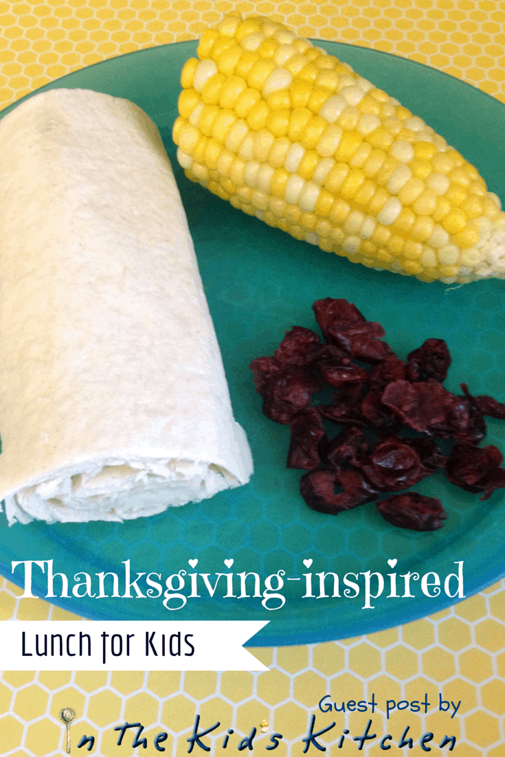 Thanksgiving-inspired lunch for kids