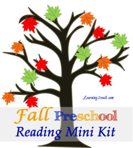 fall preschool reading