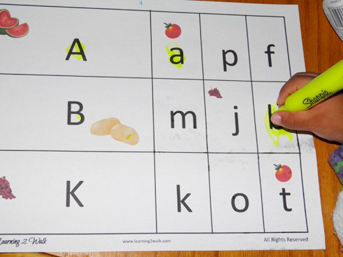 Fruits and Vegetables Preschool Theme Week: preschool reading