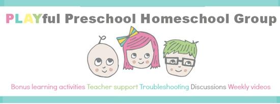 playful preschool virtual homeschool
