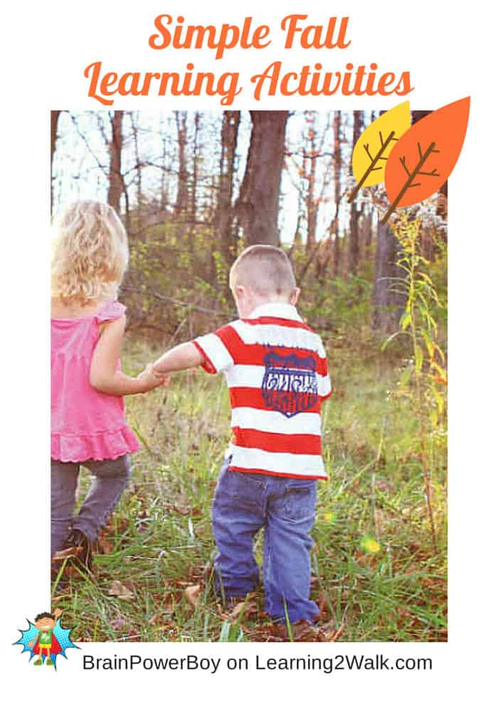 Simple Fall Learning Activities