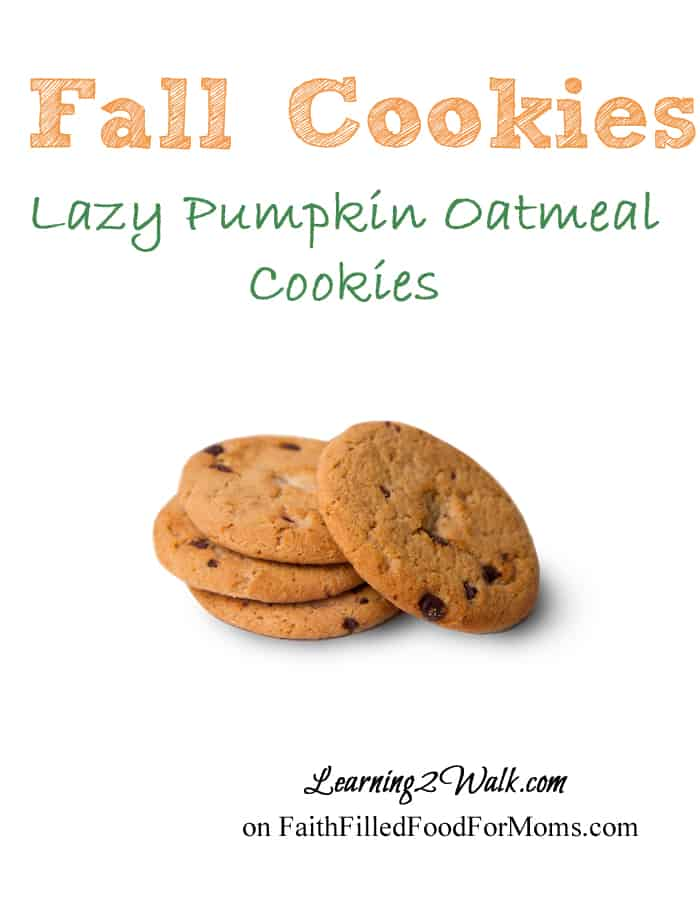 Fall Activities for Preschoolers- Fall Cookies