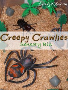 Creepy Crawlies Lesson plan: preschool sensory activities