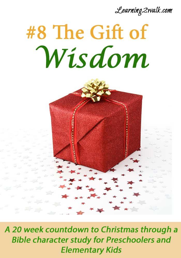Christmas Bible Lesson for Preschoolers- Solomon