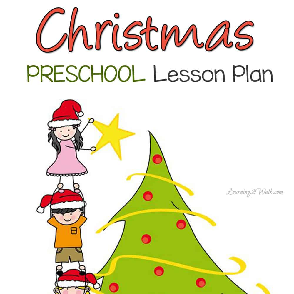 Christmas time is drawing near and the preschool lesson plan shared here is jammed packed with ideas.