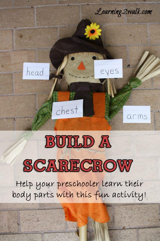 Preschool Lesson Plan Build A Scarecrow
