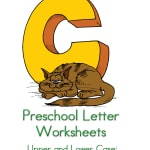 Looking for ways to teach preschool letter recognition? These free preschool letter C worksheets are perfect! The include do a dot pages as well as tracing pages