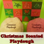 Preschool Sensory Activities for Christmas- Playdough