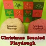 Preschool Sensory Activities for Christmas- Playdough