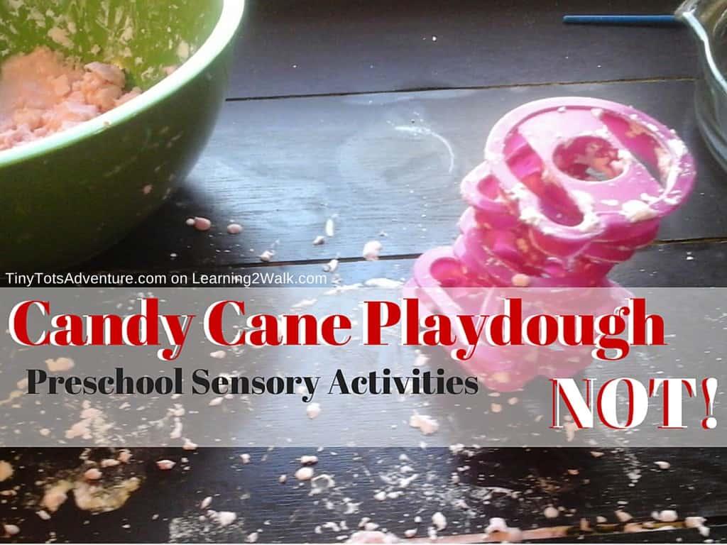 Candy Cane Playdough