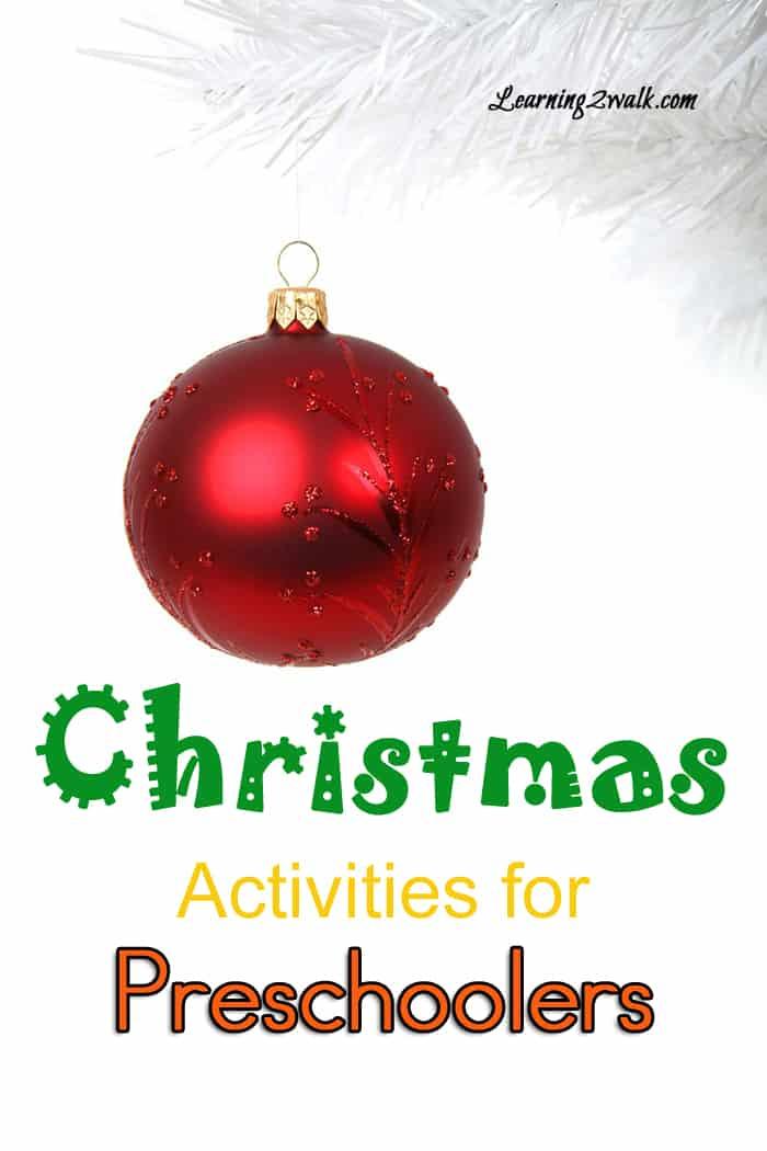 christmas activities for preschoolers