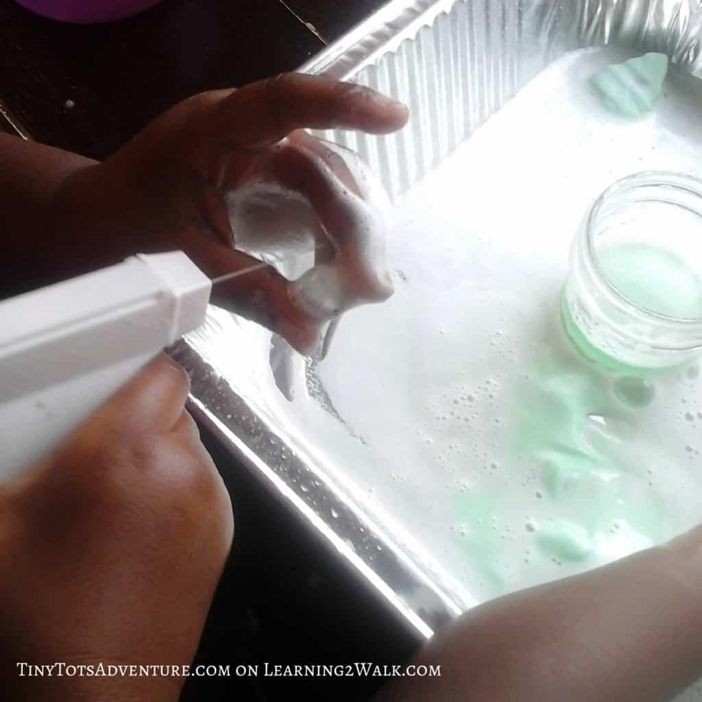 Preschool Sensory Activities: Erupting Numbers