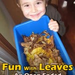fun-with-leaves fall activities for preschoolers