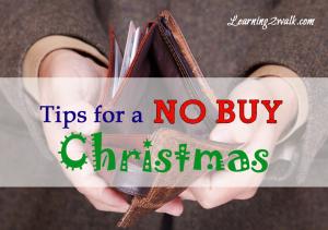 no buy christmas tips