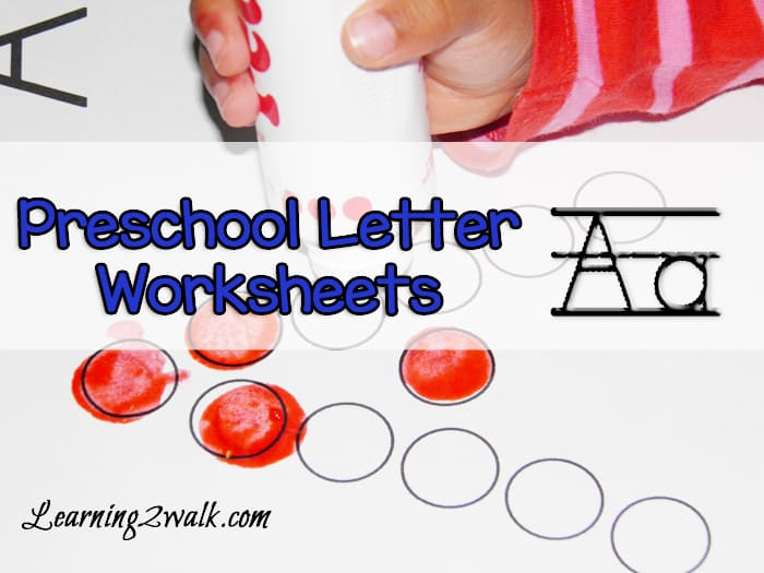 Preschooler showing interest in the alphabet? Try these free letter A alphabet worksheets! It's a hands-on alphabet worksheet that is perfect for them