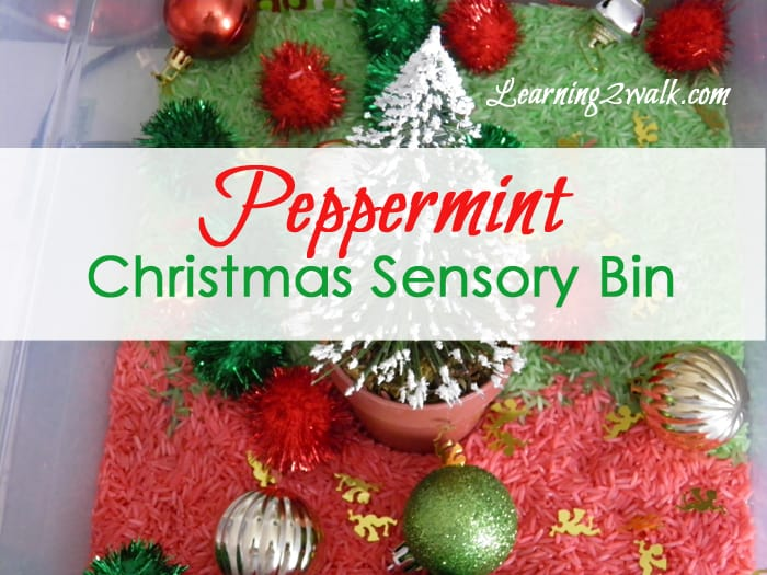 Sensory play is a must for preschoolers! This Christmas peppermint sensory bin smelled so wonderful and your kids will enjoy scooping and pouring. Why not try this Christmas idea for your kids?
