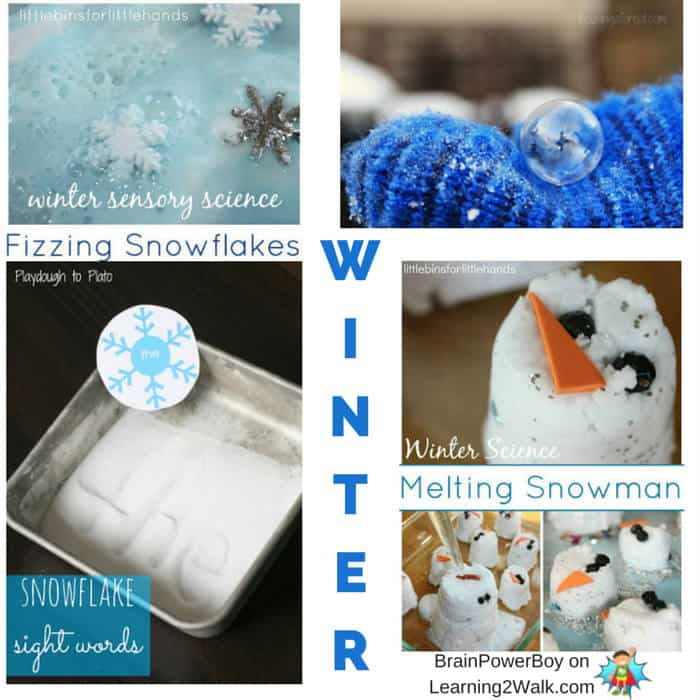 Science, math, language and more included in this fun winter learning roundup for preschool girls and boys.