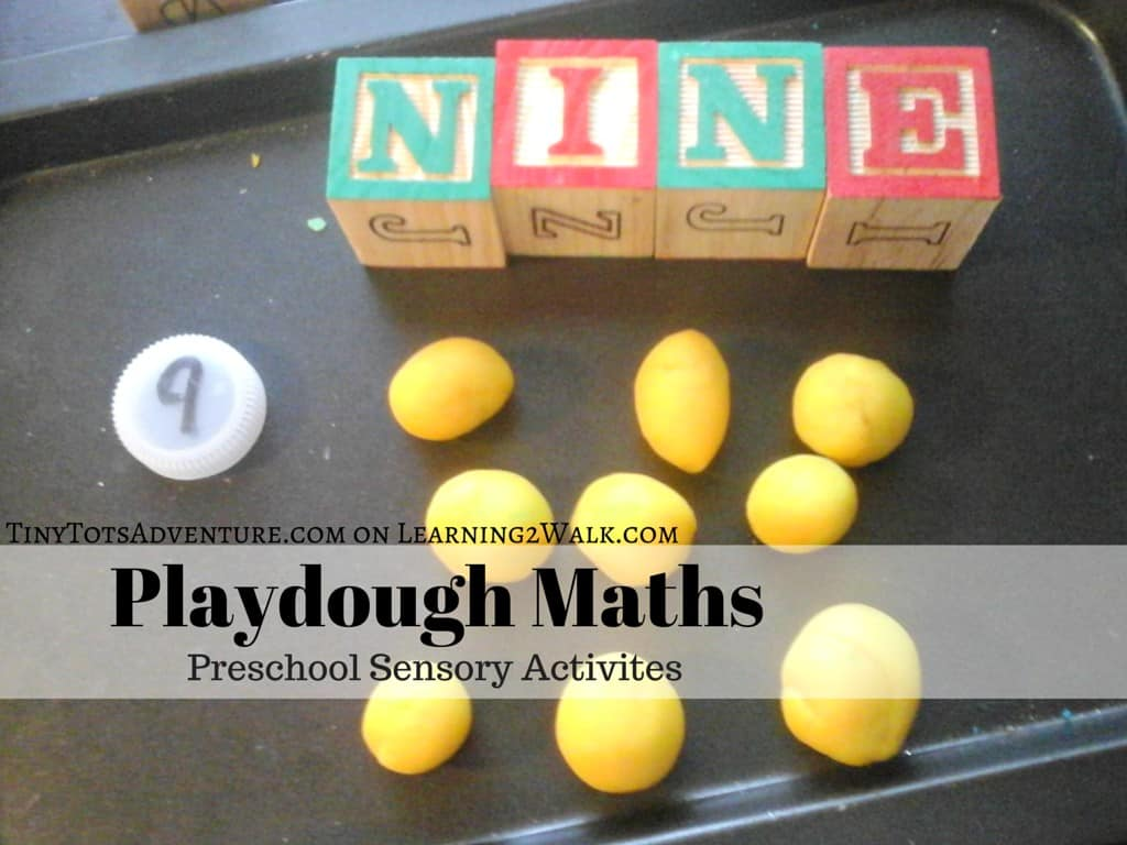 Playdough Maths