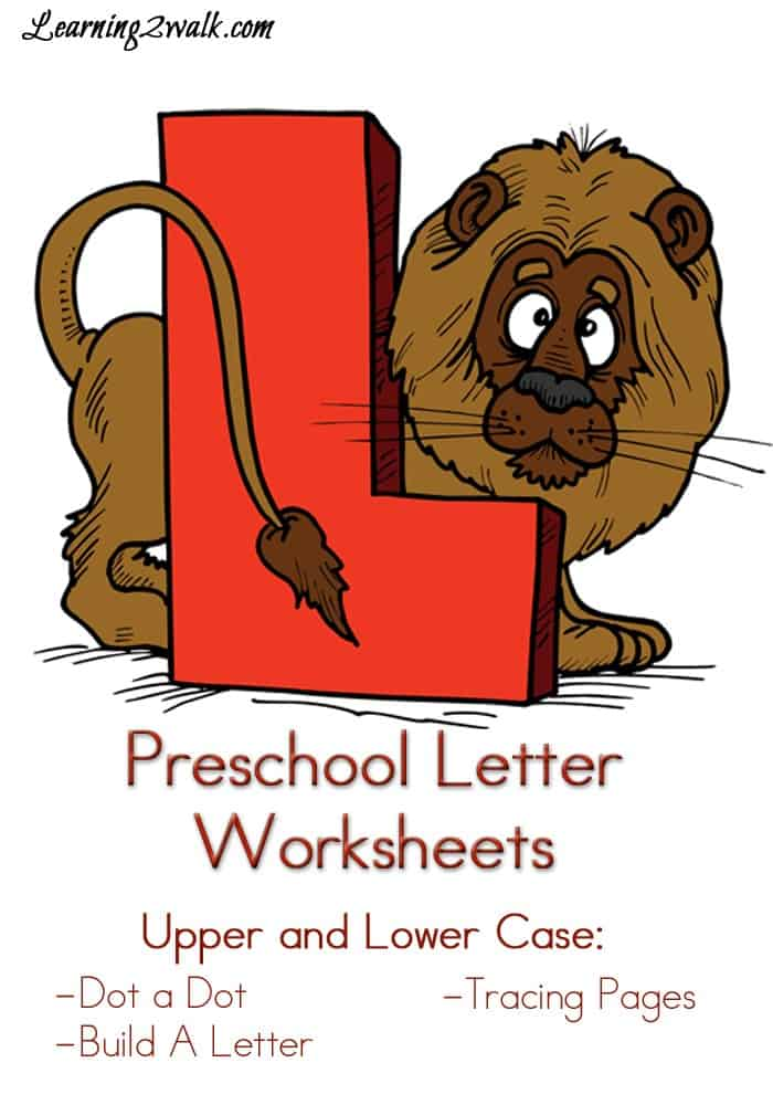 Preschool Letter Worksheets L