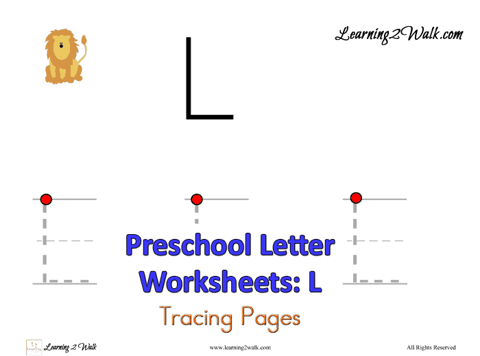 Use These Free Preschool Letter L Worksheets To Help Your Child Work On  Their Letter Recognition