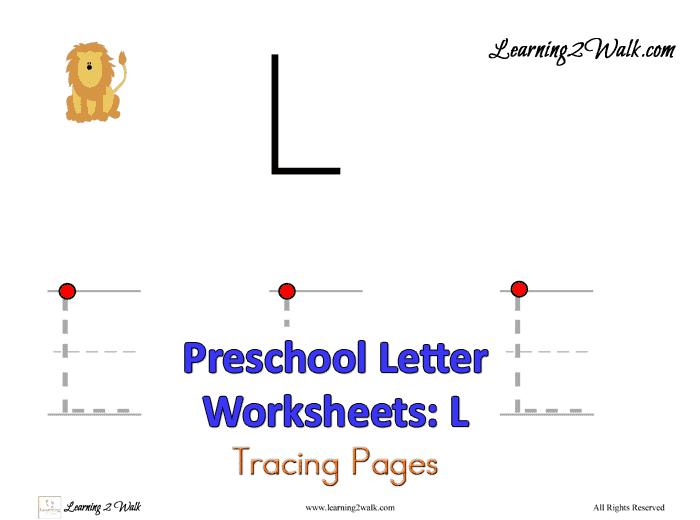 Preschool Letter Worksheets L on Preschool Line Tracing Worksheets Letter J