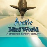 Arctic world preschool sensory activities