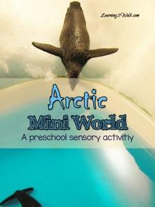 Arctic world preschool sensory activities