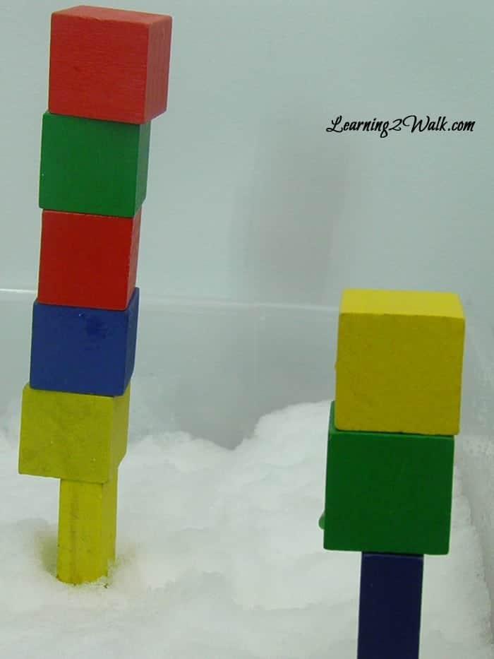 Foundations-How Buildings work preschool science experiments 2