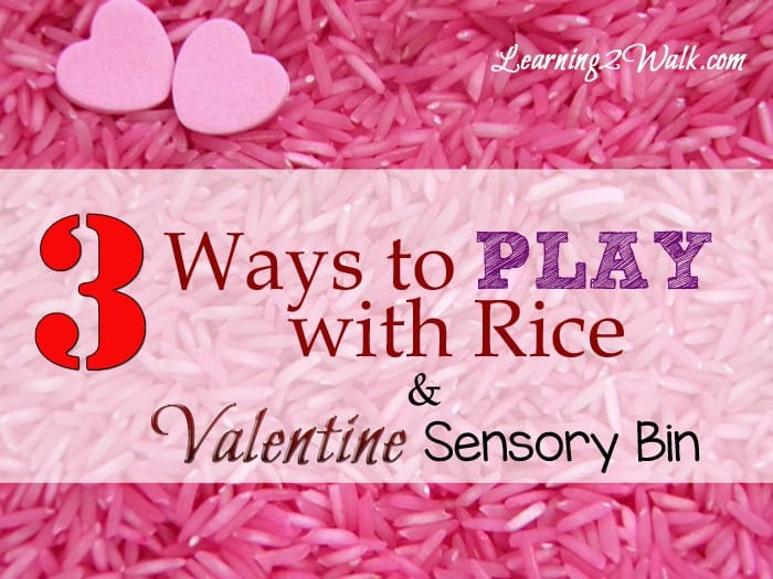 preschool sensory activities- 3 ways to play with rice and valentine sensory bin horizontal