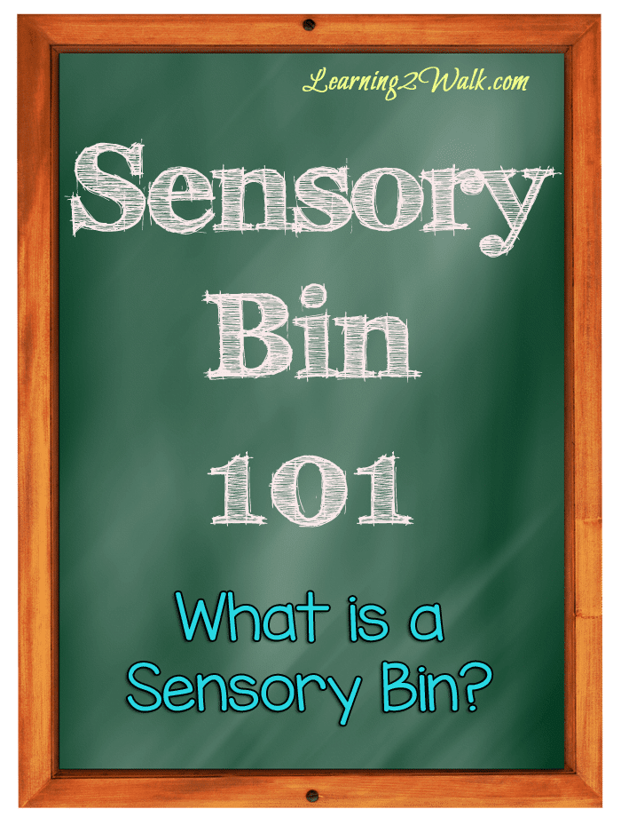 preschool sensory activities- what is a sensory bin
