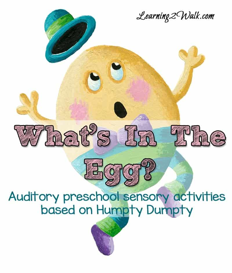 whats in the egg- auditory sensory activities based on humpty dumpty