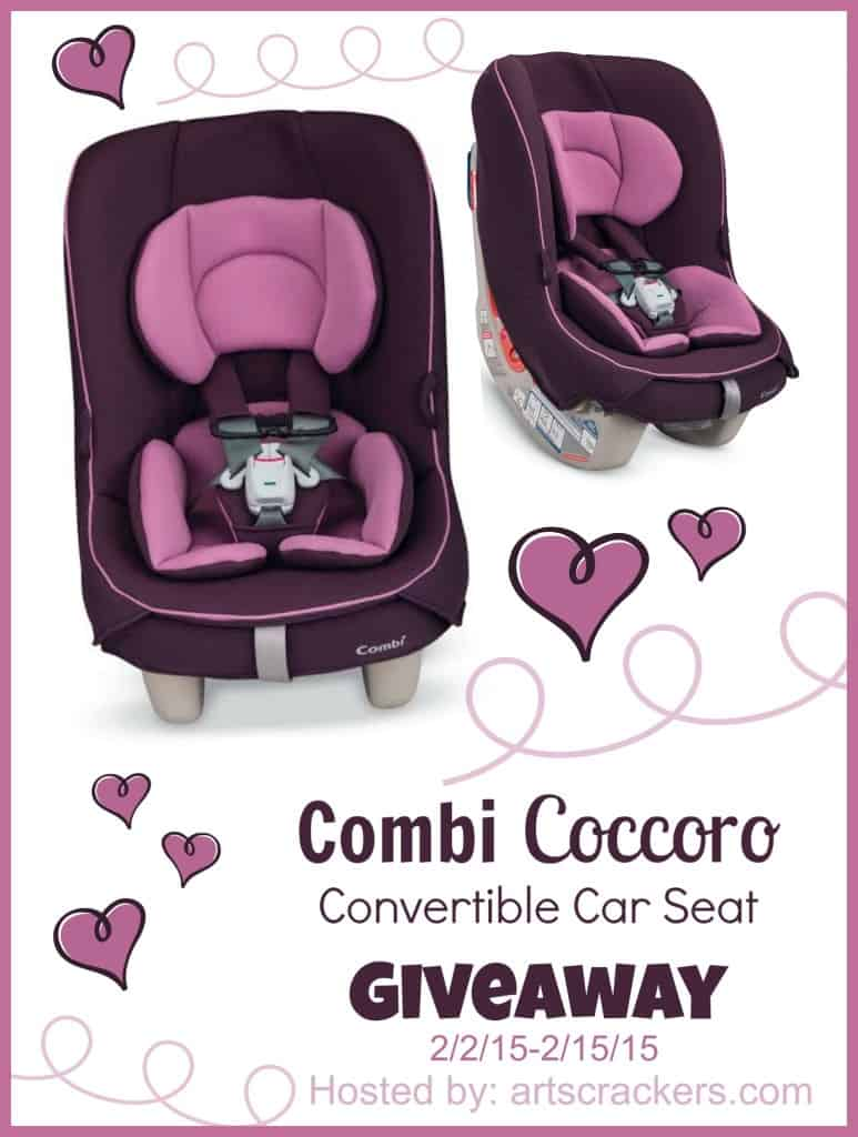 Combi Coccoro Carseat Giveaway