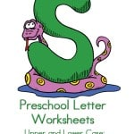I am always on the lookout for preschool letter activities. This letter G preschool letter worksheets printable for kids has do a dots, tracing pages and more. Preschool Letter Worksheets S