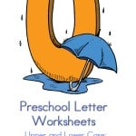 I am always on the lookout for preschool letter activities. This letter U preschool letter worksheets printable for kids has do a dots, tracing pages and more. Preschool Letter Worksheets U